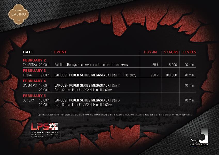 Programa del torneo LPS Megastack